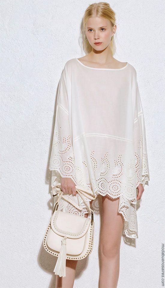 Moda 2018 túnicas. Moda ropa de mujer verano 2018. #moda #fashion #outfits