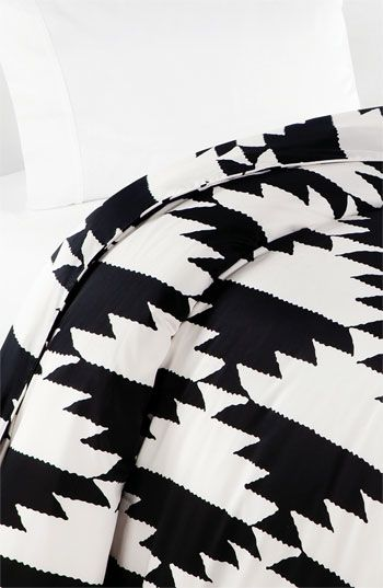 Diane von Furstenberg 'Native Hound' 300 Thread Count Duvet Cover | Nordstrom