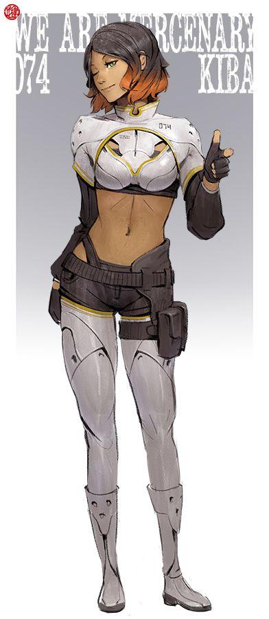 We Are Mercenary: Kiba 74 by madspartan013