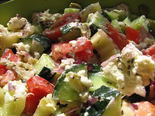 Mandy kertje és konyhája: Görög saláta