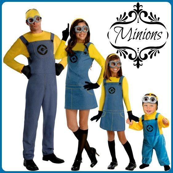 Minion Family Costume  sc 1 st  Pinterest & 129 best Danielu0027s 1st Birthday images on Pinterest | Bday party ...