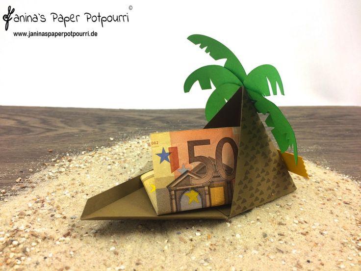 jpp - Palme / Palmtree / Reise Taschengeld / Urlaub Gutschein / Verpackung / Sommer / Strand / Geldgeschenk / Stampin' Up! Berlin / Playful Pals / Pyramid Pals / Freunde mit Ecken und Kanten / Project Life all meine Erinnerungen  www.janinaspaperpotpourri.de