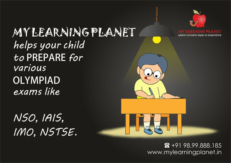 """If your child is planning to give any of the #Olympiad exams like International Maths Olympiad, National Talent Search Examination, NSO, IAIS then your search for the #institute ends here at the """"My Learning Planet"""".   We are a group of #professions who have craze and are passionate to get the maximum out of the children by putting in our 100% efforts. So give us an #opportunity to help your child in excel these Olympiads.  For more info visit www.mylearningplanet.in or call us on 989988185."""