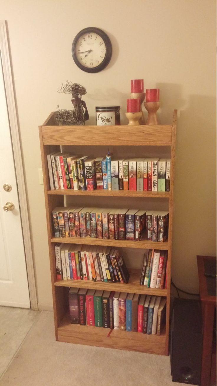 Solid Oak Bookcase by 2guysandasaw on Etsy https://www.etsy.com/listing/261371238/solid-oak-bookcase