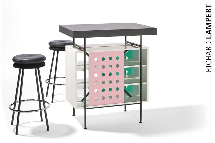 An eye-catcher to stand up to – high table ›MILLA‹ and bar stool ›BIG TOM‹ by Alexander Seifried