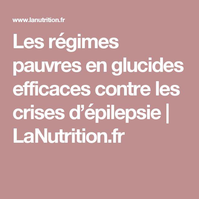 Les régimes pauvres en glucides efficaces contre les crises d'épilepsie | LaNutrition.fr