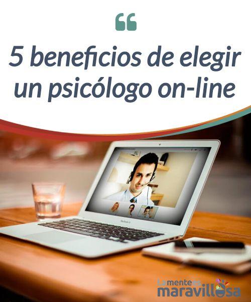 5 beneficios de elegir un psicólogo on-line   ¿Tienes dudas de contactar con un #psicólogo on-line? Hoy te hablaremos de sus #beneficios, pues muchos miedos y preguntas son fruto del #desconocimiento.  #Psicología