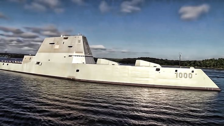 USS Zumwalt • World's Most Technologically Advanced Warship