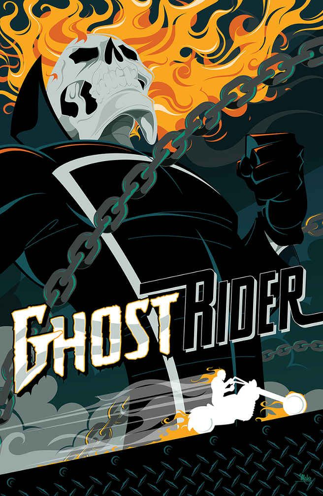 Awesome Art We've Found Around The Net: Ghost Rider, The Revenant, Sin City - Movie News | JoBlo.com