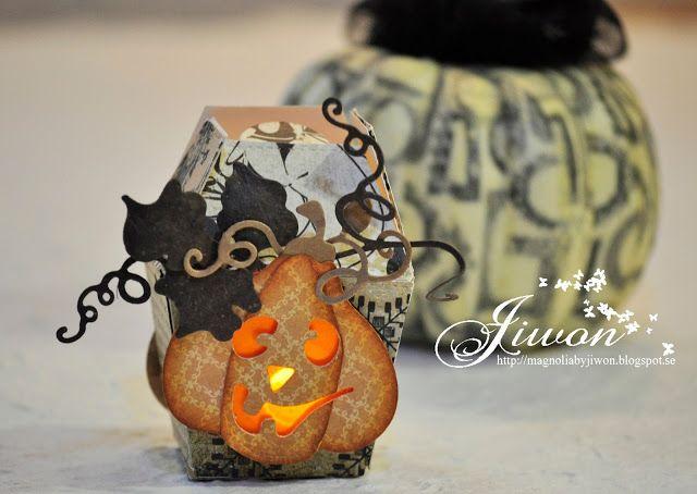 Jiwon's Magnolia Blog: Pumpkin Mini Lamp