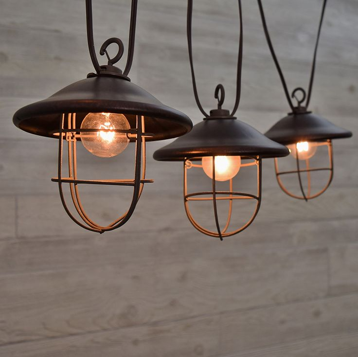 Outdoor String Lights Metal: 40 Best It's All In The Lighting Images On Pinterest
