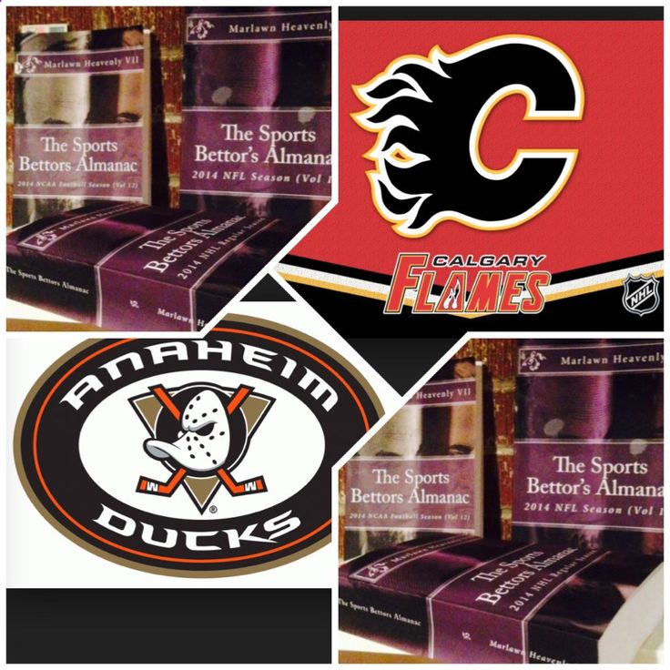 5/10/15 NHL Playoffs: #Calgary #Flames vs #Anaheim #Ducks (Take: Ducks -220,Under 5.5 Goals) (THIS IS NOT A SPECIAL PICK ) The Sports Bettors Almanac SPORTS BETTING ADVICE On 95% of regular season games ATS including Over/Under 1.) The Sports Bettors Almanac available at www.Amazon.com 2.) Check for updates Marlawn Heavenly VII ( SportyNerd@ymail.com ) #NFL #MLB #NHL #NBA #NCAAB #NCAAF #LasVegas #Football #Basketball #Baseball #Hockey #SBA #Boxing #Business #Entrepreneur #Investing