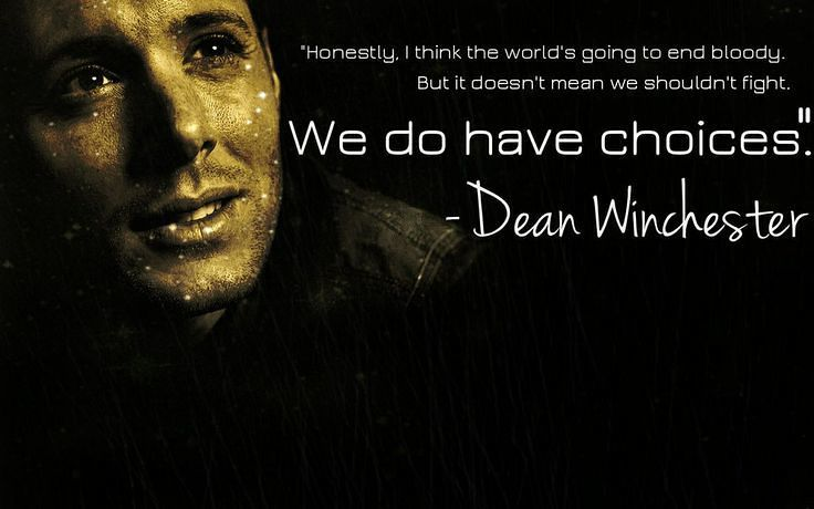 Supernatural: The Best Quotes from Dean, Sam, Castiel, Crowley and Bobby | moviepilot.com