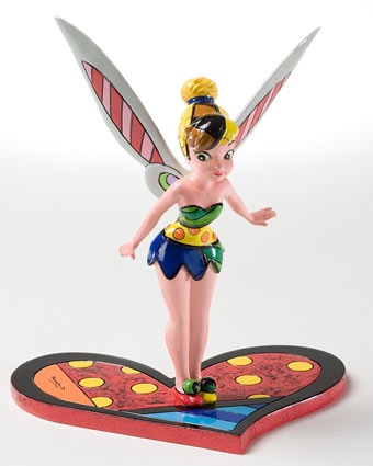 Britto 8 In. Tinker Bell Figurine Available at: www.always-forever.com