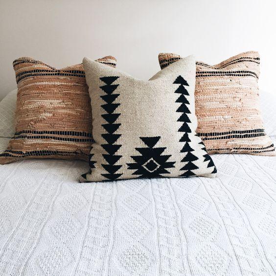 tribal print pillow