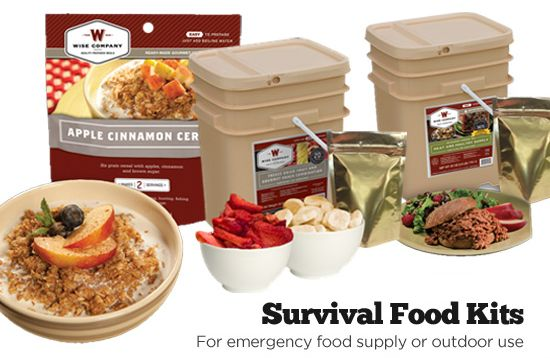 Wise Company Survival Food Kits as low as $24.99 – normally priced from $42