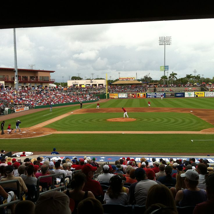 "It was my first Grapefruit League Spring Training game. 2012. The @bluejays were at the @phillies. Franchise pitcher Ricky Romero was taking on our old friend Doc Halladay and all I could think was ""how lucky am I that I get to watch this match up in person?!?"" I sat with strangers who were from Philadelphia. We shared stories of our baseball adventures and they teased me every time I cheered for my Jays. One of my new friends said we were on tv back in Phillie thanks to a text he got from…"