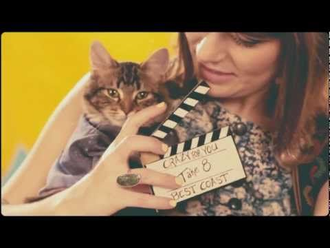 Best Coast - Crazy For You. One of my favorite Summer-time So-Cal bands. This video feat. a kitty crew is too cute!
