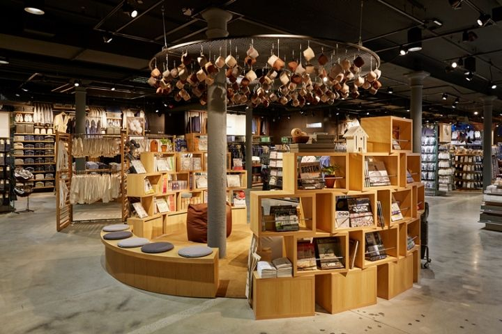 Muji flagship store, Boston – Massachusetts