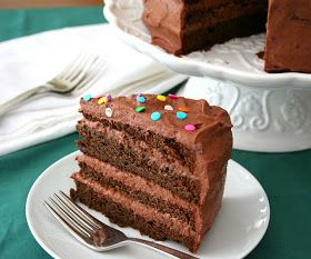 Daddy Cool!: Νηστίσιμη τούρτα σοκολάτα