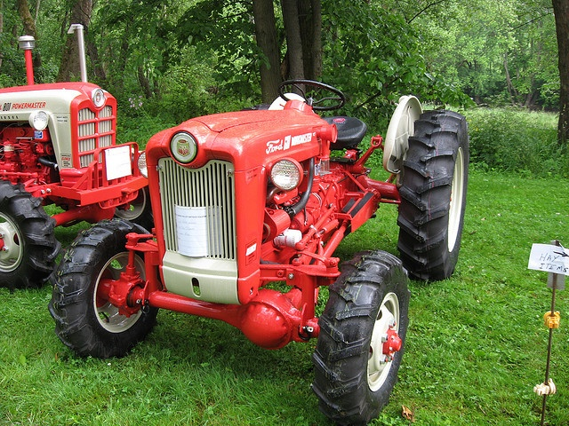 Vintage Front Wheel Drive Tractors : Best images about simple powerful old ford tractors