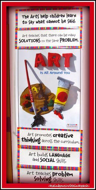 photo of: Poster on Art room Door via RainbowsWithinReach