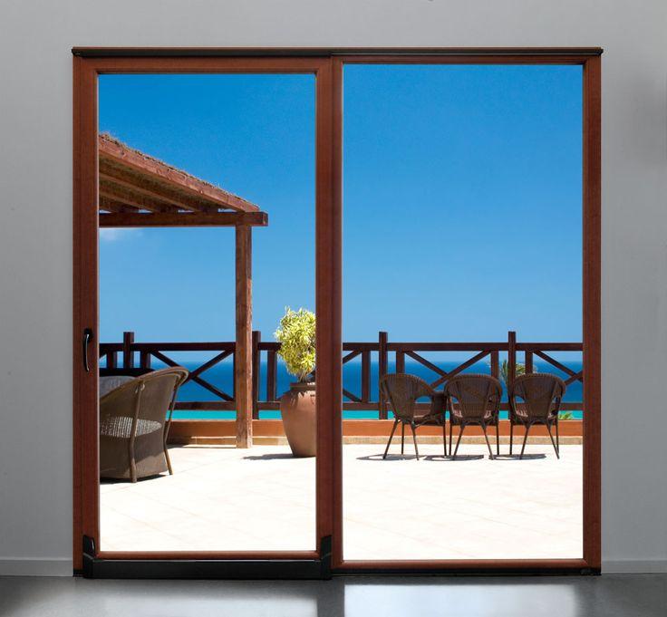 Porta finestra taglio termico i nostri infissi in pvc outdoor decor patio e outdoor - La finestra biz ...
