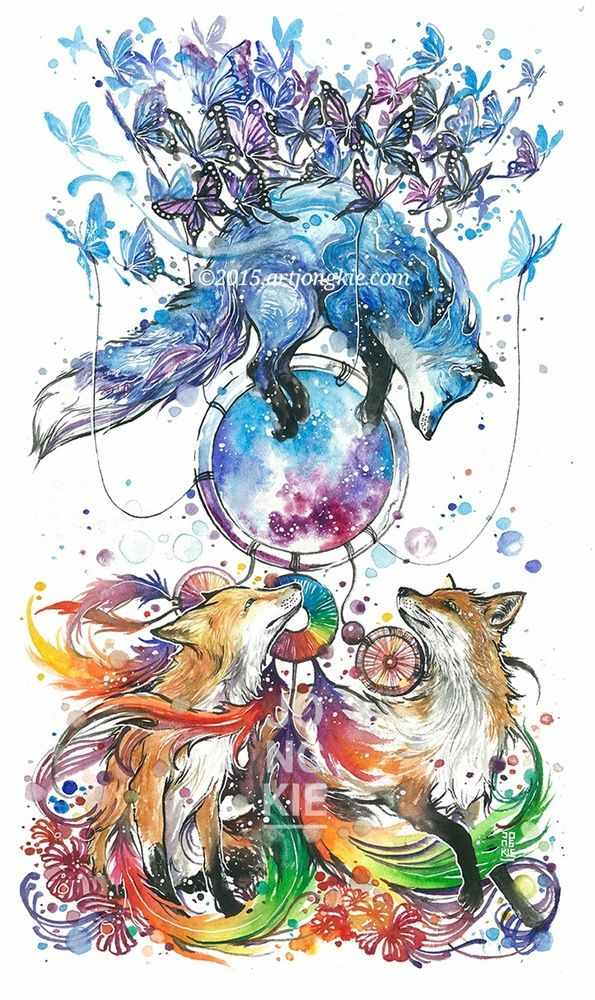 Image of The Dream Catcher (ButterFox)