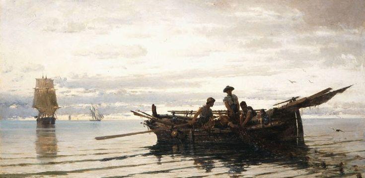 Μαζεύοντας τα δίχτυα (1871)