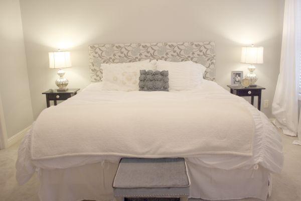 perfect instructions for a king sized diy upholstered headboard diy ideas pinterest diy. Black Bedroom Furniture Sets. Home Design Ideas
