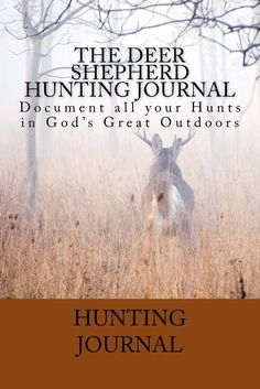 Keeping a hunting journal will make you a better hunter and increase your chances of success. You will be able to identify patterns over the years in your hunting areas. Document 60 hunts with up to 19 different categories. Record everything from temperature and wind direction and speed to the type of weapon and gear used. Each hunt also has plenty of room to document your spiritual reflections and hunt notes. Documenting all of these things and more, coupled with writing down your…