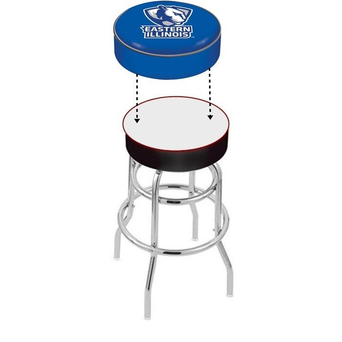 eastern illinois panthers bar stool seat cover visit for discount coupon