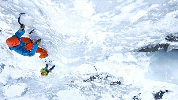 Bases de la escalada en hielo: colocar tornillos, reunión, abalakov