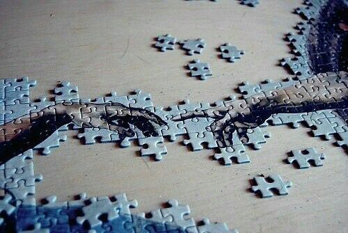 Hands With Fingers Touching Puzzle Art Puzzle Pieces