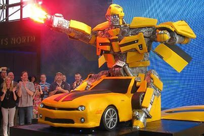 Transformer Cake By Cake Boss Extreme Unusual Cakes