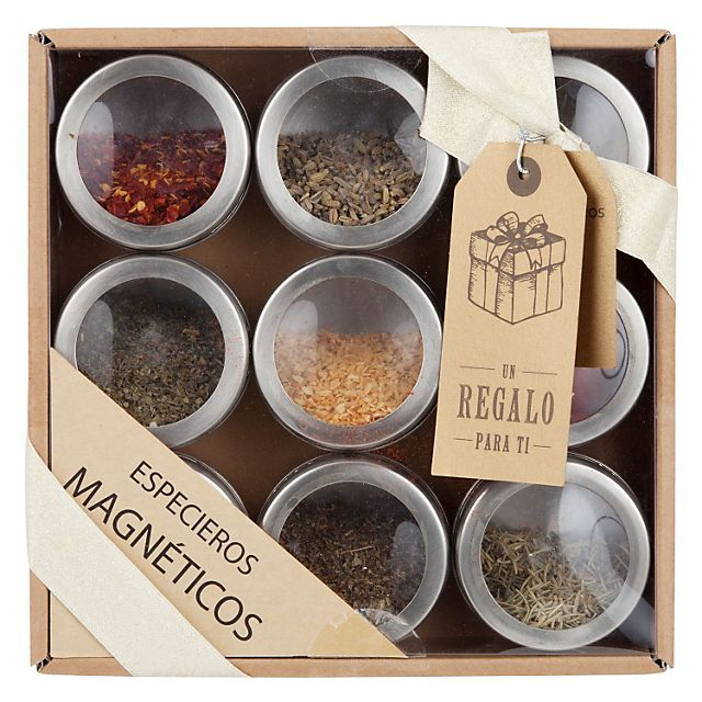 Mica Especiero 9 Tarros Magnéticos - Falabella.com