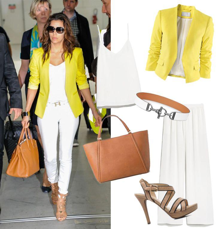 Outfit Eva Longoria | Modescope http://www.modescope.com/