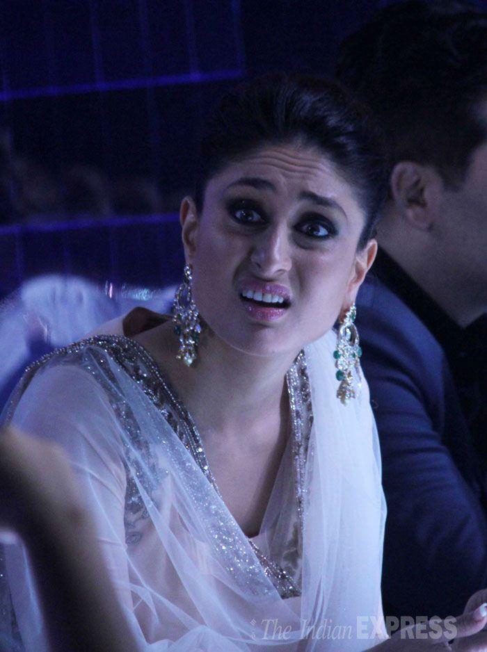 Kareena Kapoor on 'Jhalak Dikhhla Jaa'. Milion Dollar Expression