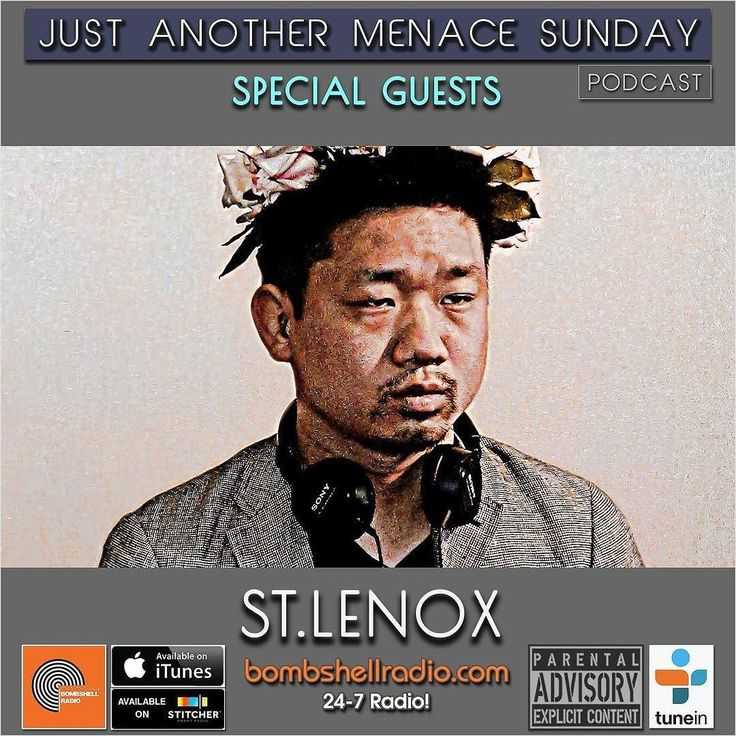Today 3pm-5pm EST and 8pm-10pm EST bombshellradio.com  The Menace's Attic/Just Another Menace Sunday on Bombshell Radio This week: A DTM Conversation with NYC artist St. Lenox and his Musical Sandwich  New Melodic Rock and Roll from: OMD Phoenix Arcade Fire Ten-Five-Sixty Night Drive Mis En Scene Alvvays Yoke Lore Waxahatchee London Grammar Tristen Marina Hackman Ride Lola Marsh!  Repeats Wednesday 3am-5am EST 11am-1pm EST  and Friday 3pm-5pm bombshellradio.com #DennistheMenace #dj…