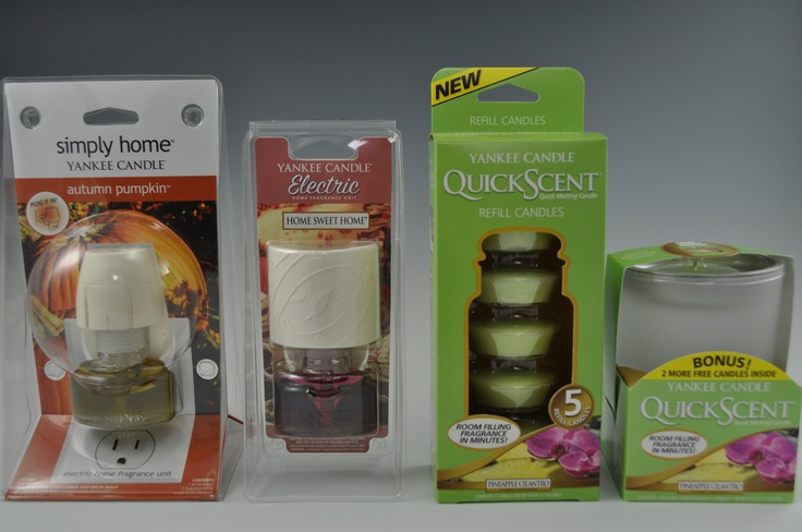 Who doesn't love yankee candle? Our blister packaging displays their amazing scents!