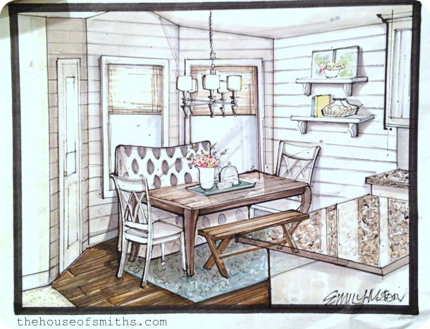Interior Design Sketches Kitchen 25 best room images on pinterest | interior design sketches