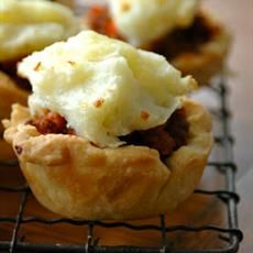 Lamb & Vegetable Party Pies