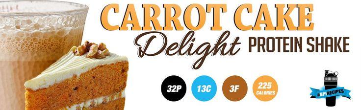 Quando si pensa alla torta di carote ci passa per la testa di tutto e di più! Gli chef nella cucina della BPI Sports ha creato un ottimo frullato di proteine ... http://www.technonutrition.it/blogs/news/49250755-shake-proteico-al-gusto-di-carote-by-bpi