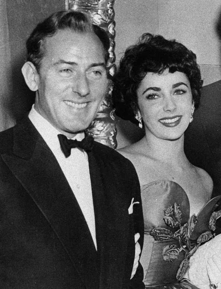 This 1951 file photo shows actress Elizabeth Taylor with actor Michael Wilding. Wilding was Taylor's second husband, married from 21 February 1952 - 26 January 1957. (AP Photo/File).