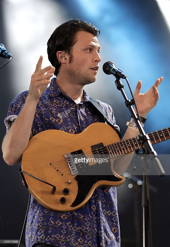 Orlando Weeks of The Maccabees performs at Lowlands Festival on August 19, 2012 in Biddinghuizen, Netherlands.