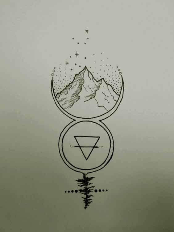 50 besten Jungfrau Tattoos Designs und Ideen mit Bedeutungen
