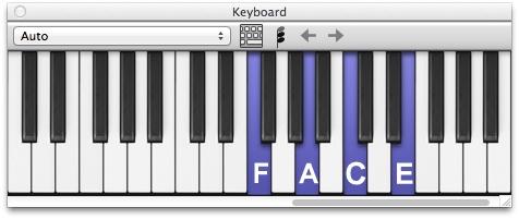 E não é que o som de notificação do Facebook é um acorde Fmaj7 (Fá maior com 7ª), composto pelas notas FA-LA-DO-MI, ou seja, F-A-C-E. Engenhoso, não?