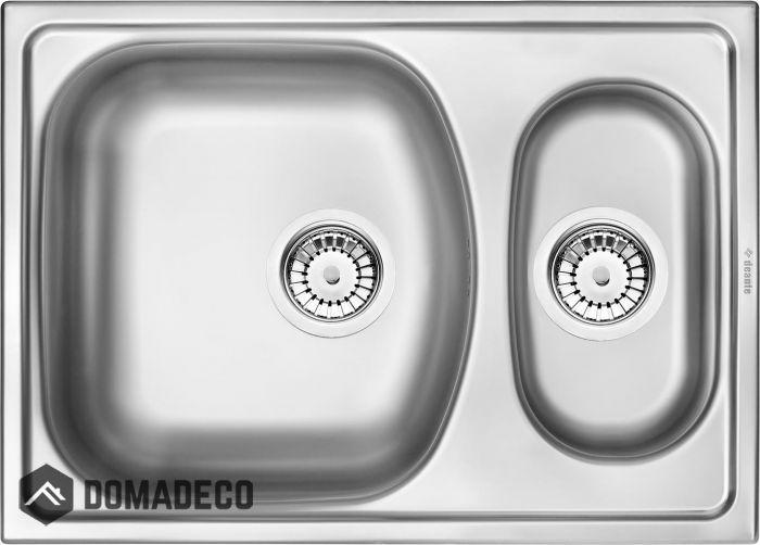 De Xylo 4 Double Stainless Steel Undermount Sink Undermount