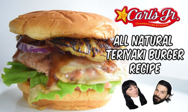 Carl's JR - Teriyaki Turkey Burger - RECIPE