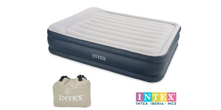 Cama hinchable Intex 67738. 45.46€. 28% ahorro. #ofertas #descuentos #ahorro #decoracion #hogar #camas_hinchables